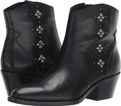Sarafina (Black Leather) Women's Boots
