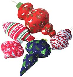 14.25 x 6.69 x 3.62 Santa's Little Squeakers Five-Piece in Box with Gift Box (Varied) Dog Toys