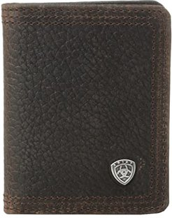 Ariat Shield Bi-Fold Wallet (Brown Rowdy) Wallet Handbags