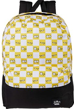 Vans X The Simpsons Check Eyes Backpack ((The Simpsons) Check Eyes) Backpack Bags