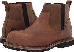 Millworks Chelsea Composite Safety Toe (Brown Gaucho) Men's Work Boots