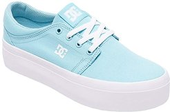 Trase Platform TX (Light Blue) Women's Skate Shoes