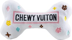 Chewy Vuiton Bone - XL (White) Dog Toys