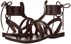 Vacation Day Wrap Sandal (Dark Red) Women's Shoes