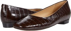 Honor (Dark Brown Croco Leather) Women's Shoes