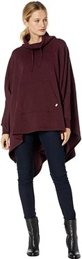 Charlynne Poncho (Port Heather) Women's Clothing
