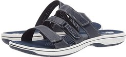 Brinkley Coast Boxed (Navy Synthetic) Women's Sandals
