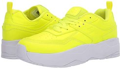 E.Tribeka Platform (Yellow) Women's Shoes