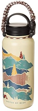 Mountain Shadow 32 oz Insulated Steel Water Bottle (Tan) Individual Pieces Cookware