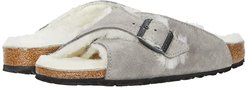 Arosa Shearling (Stone Coin Leather/Shearling) Women's Sandals
