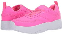 E.Tribeka Platform (Hot Pink) Women's Shoes