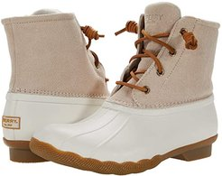 Saltwater Serpent Leather (Ivory) Women's Shoes