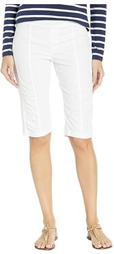 Wearables Tatem Bermuda Shorts (White) Women's Shorts
