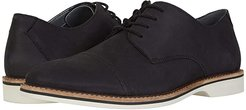Atticus Cap (Black Nubuck) Men's Shoes