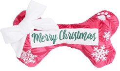 Merry Christmas Puppermint Bone (Red) Dog Toys
