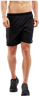XVENT 7 Shorts w/ Brief (Black/Silver Reflective) Men's Shorts