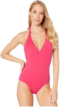 Solid Water Fames Swimsuit (Groisielle) Women's Swimsuits One Piece