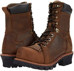 Logger CarbonMAX 8 Boot (Brown) Men's Shoes