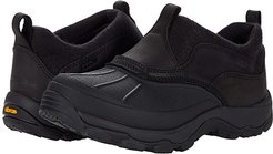 Storm Chaser Slip-On Shoes with Arctic Grip (Black) Women's Shoes
