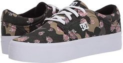 Trase Platform TX (Camo White) Women's Skate Shoes