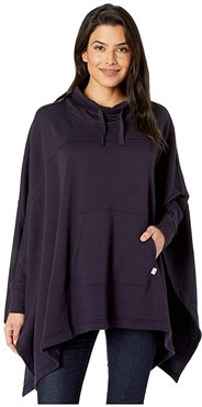 Charlynne Poncho (Navy) Women's Clothing