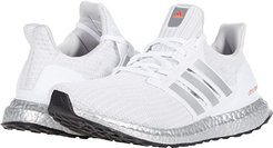 Ultraboost DNA (White/Silver Metallic/Solar Red) Men's Shoes