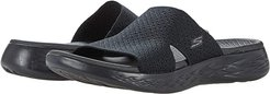 On-The-Go 600 Stretch Knit Slide (Black) Women's Shoes