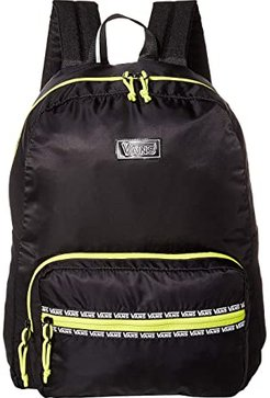 After Dark Reflective Backpack (Black/Evening Primrose) Backpack Bags