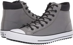 Chuck Taylor All Star Padded Collar Boot - Hi (Mason/Black/White) Lace up casual Shoes