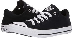 Chuck Taylor(r) All Star(r) Madison True Faves Ox (Black/Natural Ivory/White) Women's Shoes