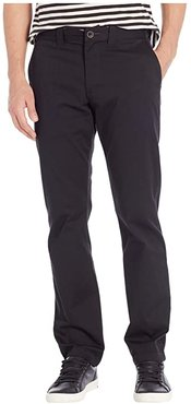 Carter Stretch Chino (Black) Men's Casual Pants