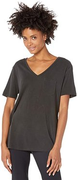 Tranquil Pocket Tee (Gray) Women's Clothing