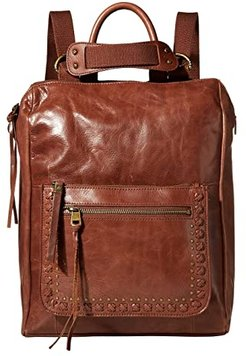 Loyola Leather Convertible Backpack (Teak) Backpack Bags