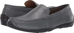 Orion (Grey Tumbled Leather) Men's Slip on  Shoes