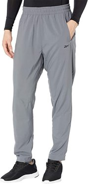 Workout Ready Woven Trackster Pants (Cold Grey) Men's Casual Pants