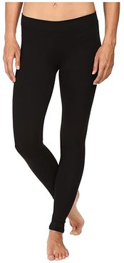 Organic Cotton Go-To Leggings (Black) Women's Casual Pants