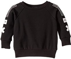What Up Sweat Top (Infant) (Black) Boy's Clothing
