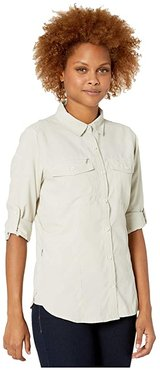 Bug Barrier Expedition Dry Long Sleeve Shirt (Soapstone) Women's Long Sleeve Button Up