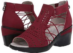 Nelly Encore (Red) Women's Sandals