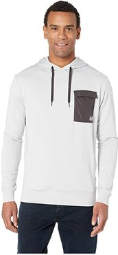 Hyggen Light Hoodie (Grey Fog Melange) Men's Sweatshirt