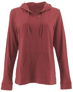 Marren Hoodie (Earth Red) Women's Sweatshirt