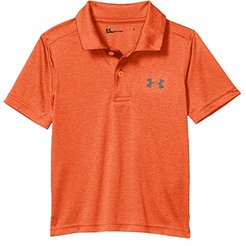 Match Play Twist Polo (Toddler) (Orange Spark) Boy's Clothing