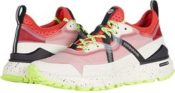 Zerogrand Overtake All Terrain Runner WR (Ivory Emboss WR/Black/Safety Yellow/Ivory/Black Speckles) Women's Shoes