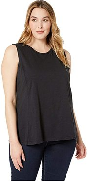 Plus Size Chloe Tank (Black) Women's Sleeveless