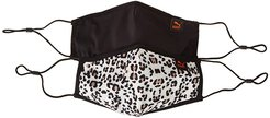 Face Mask II (Set of 2) (Vaporous Gray/Wild Cats) Scarves
