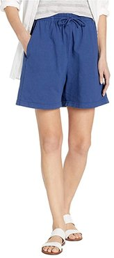 Jersey Shorts (Moonlight Blue) Women's Shorts