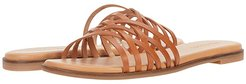 Tracie Crisscross Sandal (Burnished Caramel) Women's Shoes