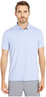 Commuter Polo (Blue Oxford) Men's Clothing