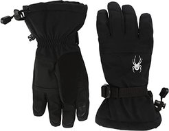 Couloir GTX (Little Kids/Big Kids) (Black) Extreme Cold Weather Gloves