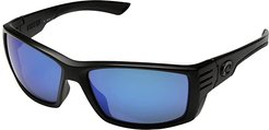 Reefton (Blue Mirror Glass W580) Athletic Performance Sport Sunglasses